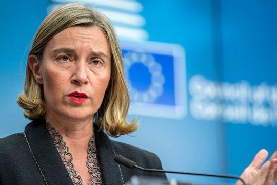 Могерини объявила о принятии новых антироссийских санкций