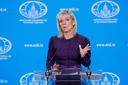 «Зачем так нервничать?» - Захарова о реакции НАТО на послание Путина