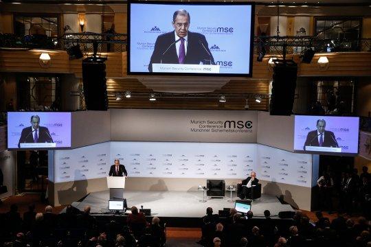 Выступление и ответы на вопросы Министра иностранных дел России С.В.Лаврова на Мюнхенской конференции по вопросам политики безопасности, Мюнхен