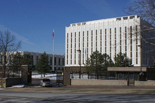 Посольство РФ в США: украинская дипмиссия вмешивается в дела принимающей страны