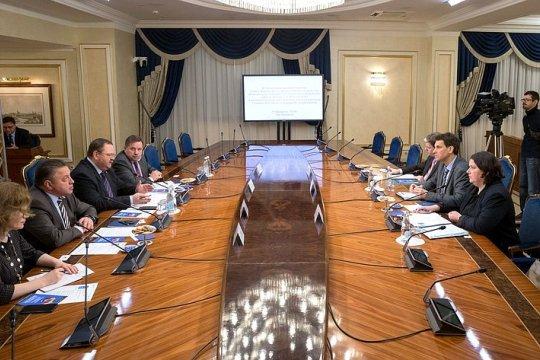 О. Мельниченко провел встречу с членом правления Германо-Российского форума М. Хоффманном