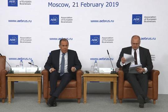 Сергей Лавров: Мы устали стучаться в закрытые двери