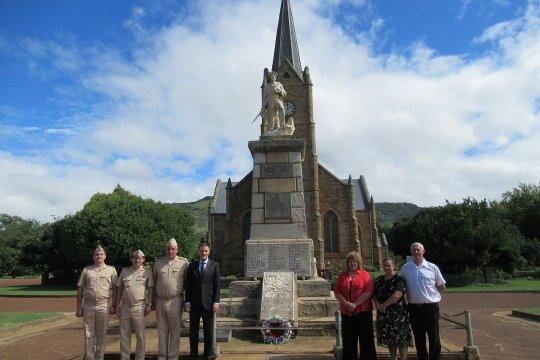 В ЮАР воздали почести русскому офицеру, павшему во время Второй англо-бурской войны