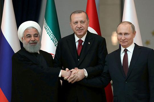 Между войной и миром: «Астанинская тройка» собирается в Сочи