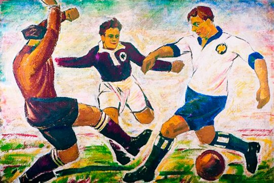 «Мяч в искусстве» - в МГИМО открывается выставка, посвященная футболу