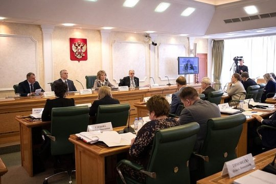 Расширение и укрепление гуманитарного присутствия России в мире