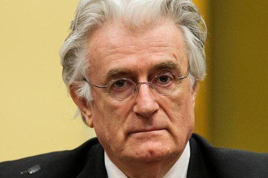 Radovan Karadzic sentenced to life in imprisonment