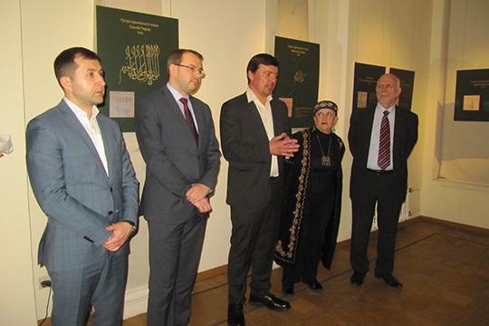 Выставка политической каллиграфии