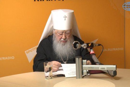 Митрополит Ювеналий поздравил православных с Пасхой Христовой