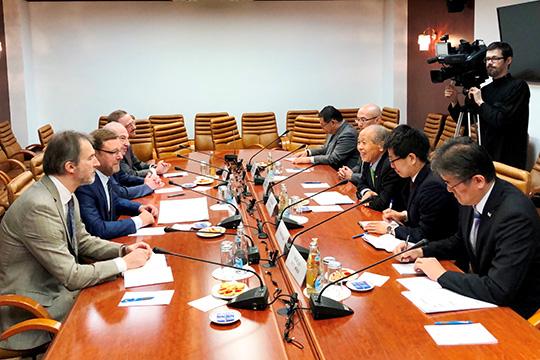 Мунэо Судзуки: Российско-японские контакты находятся на высоком уровне
