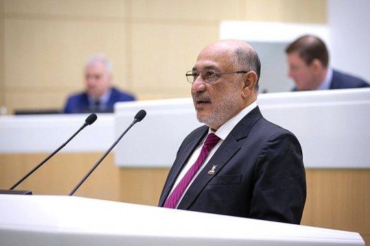 Председатель Государственного совета Омана выступил на заседании Совета Федерации