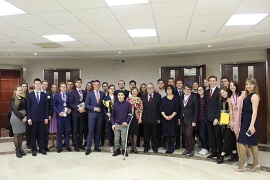 Финал научно-практического конкурса «Брифинг дипломата»