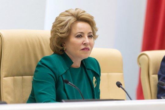 Валентина Матвиенко провела встречу с Президентом Азербайджана Ильхамом Алиевым