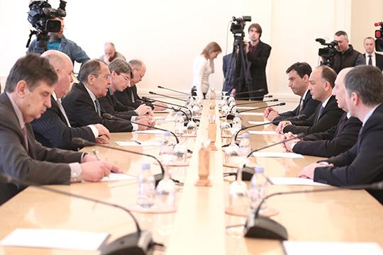 Сергей Лавров: продолжим оказывать содействие Абхазии в укреплении ее международных позиций