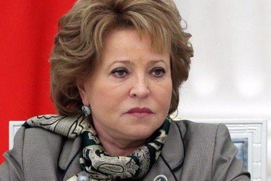 Валентина Матвиенко: глубоко потрясена пожаром в Нотр-Дам-де-Пари