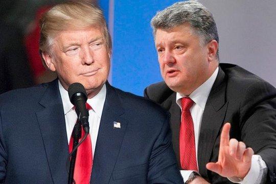 Трамп обвинил Украину во вмешательстве в американские выборы