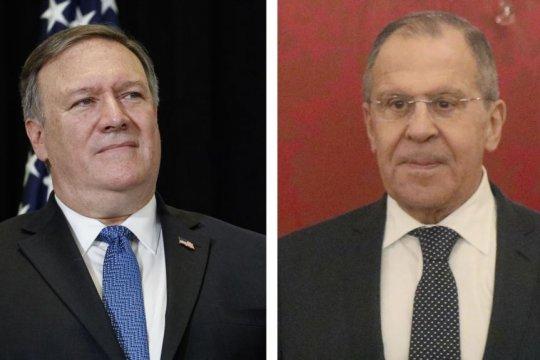 Глава МИД России провел телефонные переговоры с госсекретарем США