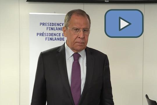 Сергей Лавров ответил на вопросы по итогам министерской сессии Комитета министров Совета Европы
