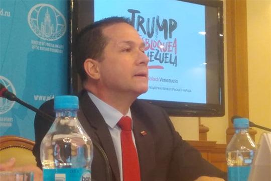 Посол Венесуэлы в России оценил потери от экономической блокады США
