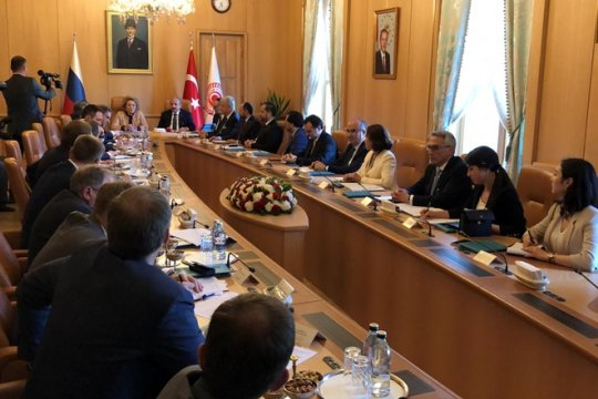 Валентина Матвиенко: Важно расширять платформу российско-турецких отношений