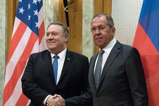Сергей Лавров и Майк Помпео провели пресс-конференцию по итогам переговоров в Сочи