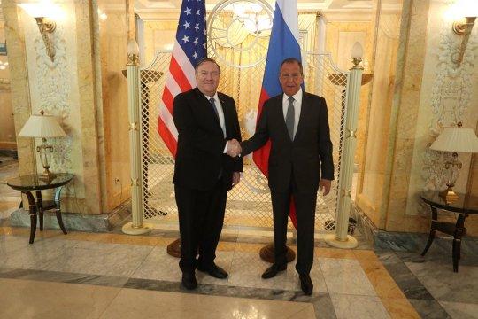 Вступительное слово Главы МИД России Сергея Лаврова на переговорах с госсекретарем США Майком Помпео