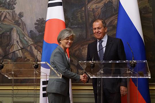 Выступление Сергея Лаврова по итогам переговоров с главой МИД Южной Кореи