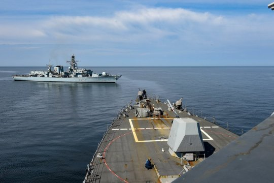 В НАТО назвали цели учений на Балтике