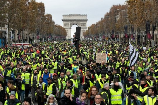 Shocking statistics of Yellow Vests in France