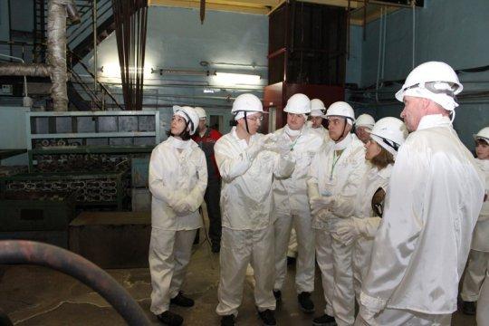 Французские энергетики побывали в сибирском Северске