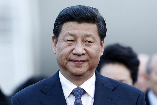 Трансляция прибытия Си Цзиньпина в Москву
