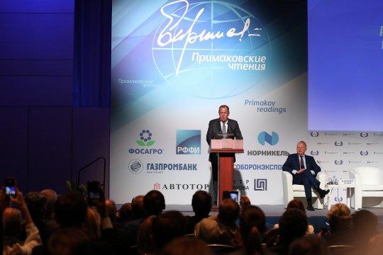 Сергей Лавров выступил на «Примаковских чтениях» и ответил на вопросы