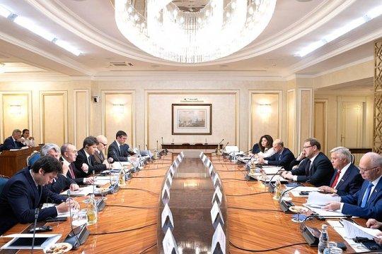 Состоялось совместное заседание Комитета СФ по международным делам и Комиссии по иностранным делам и вопросам миграции Сената Италии