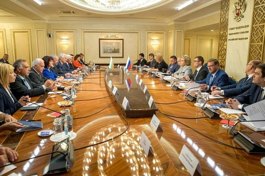 Председатель Совета Федерации В. Матвиенко провела встречу с Председателем Народного Собрания Республики Болгарии Ц. Караянчевой