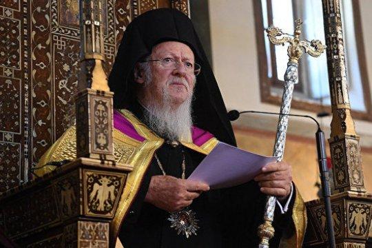 Кого не боится патриарх Варфоломей?