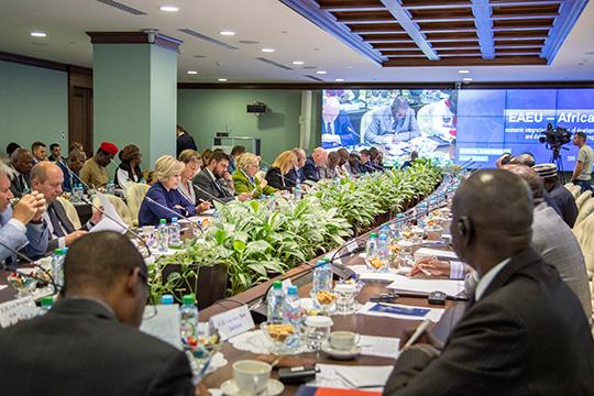 ЕЭК и Африканский союз будут развивать сотрудничество