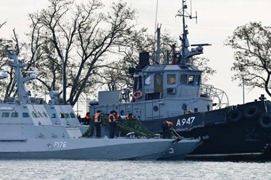 Зеленский обратился к Путину с просьбой об освобождении украинских моряков
