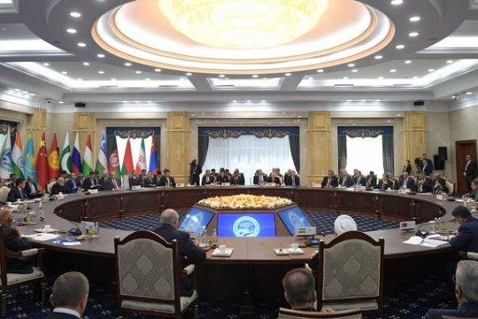Путин выступил на заседании Совета глав государств – членов ШОС