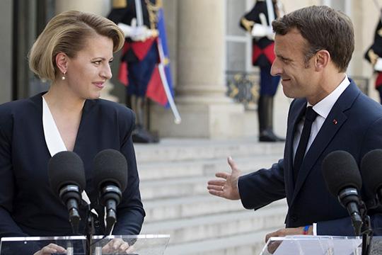 Э.Макрон: Президент Словакии является символом единой Европы