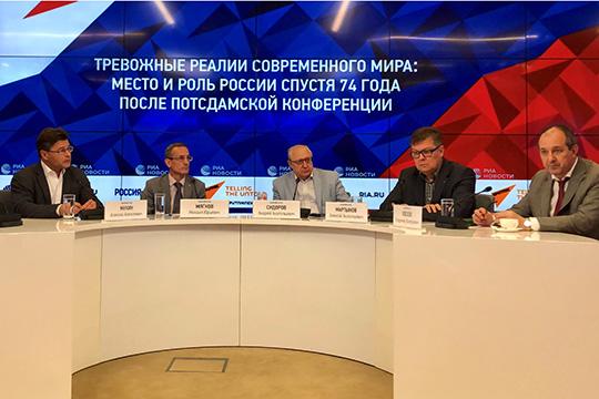 Андрей Сидоров: Будущий мир – мир крупных региональных блоков