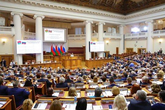 В. Матвиенко выступила на открытии пленарного заседания VI Форума регионов России и Беларуси
