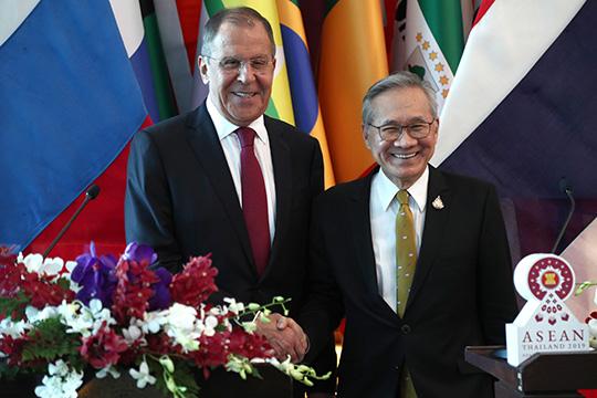 Сергей Лавров выступил с заявлением по итогам переговоров с главой МИД Таиланда