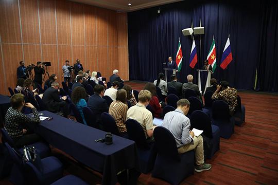 Сергей Лавров подвел итоги переговоров с коллегой из Суринама