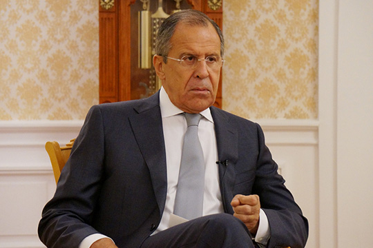 Сергей Лавров ответил на вопросы издания АиФ