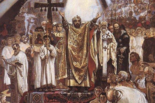 День святого Киевского Князя Владимира - продолжит ли Владимир Зеленский его добрые дела?