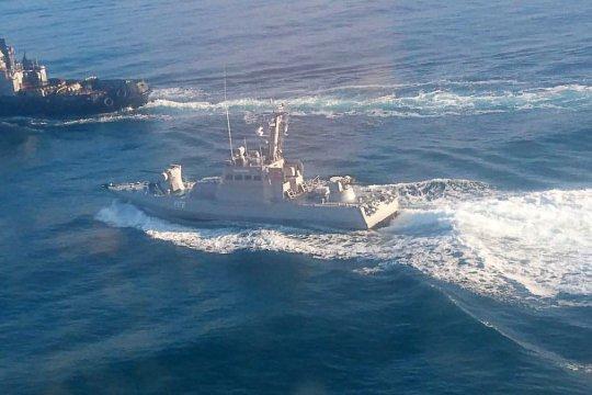 На Украине заявили о желании вновь направить боевые корабли в Керченский пролив