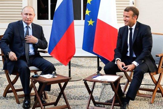 Путин и Макрон сделали заявления для прессы и ответили на вопросы журналистов