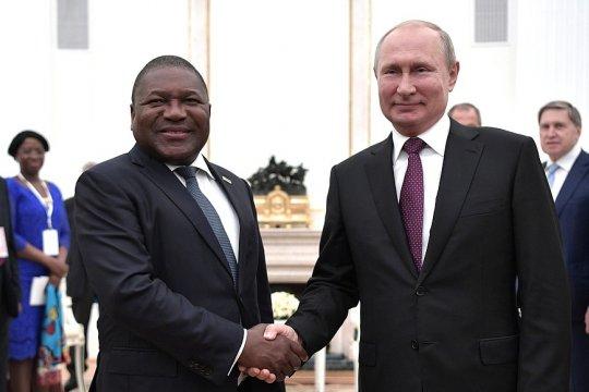 В Москве прошли российско-мозамбикские переговоры на высшем уровне