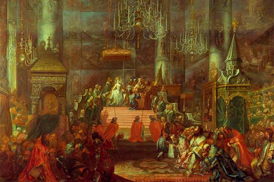 Выставка «Церемониалы российского императорского двора»