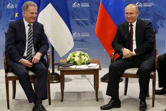 Путин посетит Финляндию в следующую среду